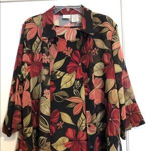 Women's 2-piece blouse/tank